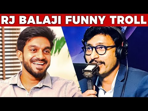 Vijay Shankar's Reaction to RJ Balaji's Funny Troll | IPL 2018 | Part 2