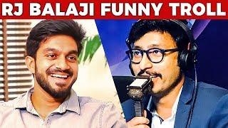 Vijay Shankar's Reaction to RJ Balaji's Funny Troll | IPL 2018 | Part 2