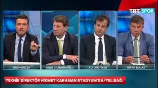 Stadyumda Hikmet Karaman   Ali Gultiken Tartsmas
