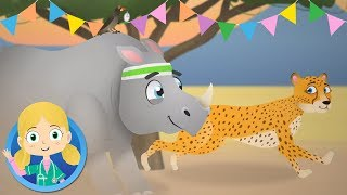 Best of Friends Animal Songs and Cartoons | Dr Poppy on Safari | Animal Songs for Children