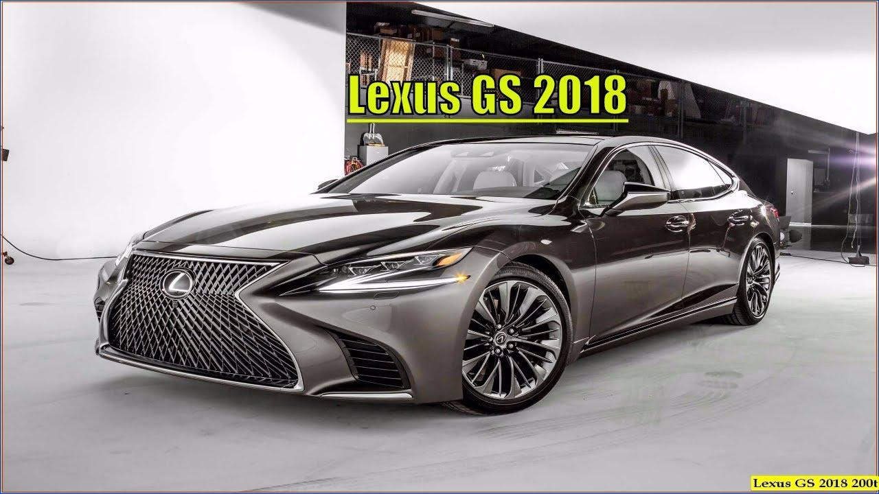 Lexus Gs 2018 New