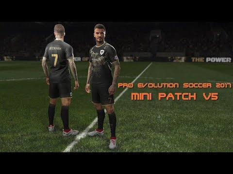 PES 2017 Mini Patch v5 for PES Professional By Hatem Fathy