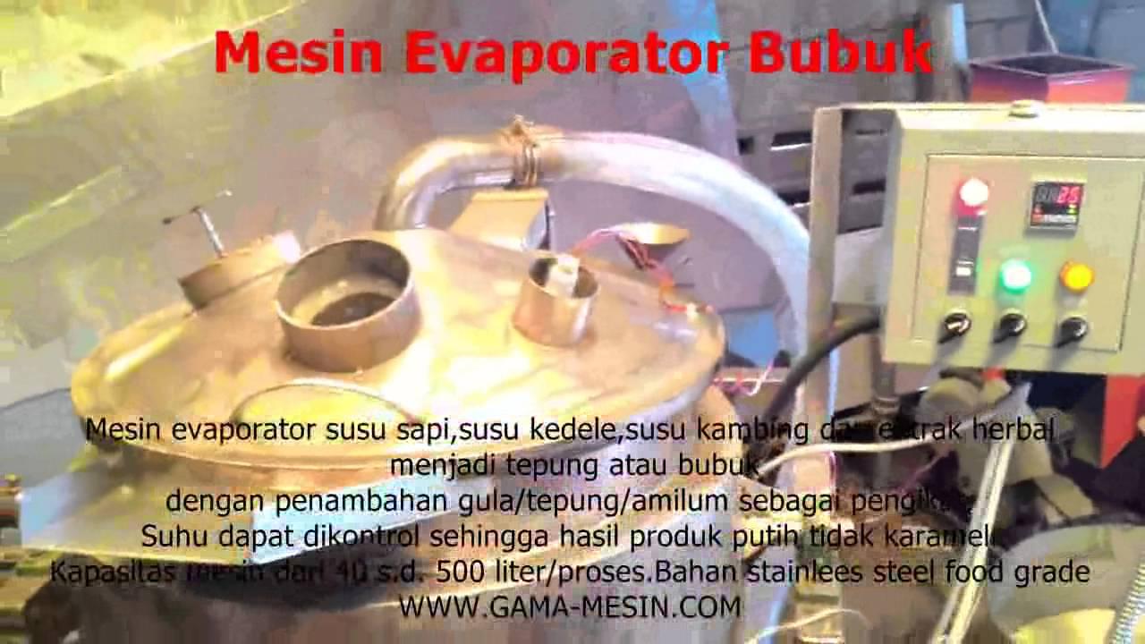 Mesin Evaporator Bubuk Marasake Instan Kacang Hijau Maxresdefault