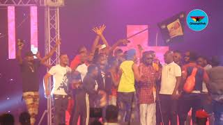Shatta Wale scoops three awards at 3Music Awards
