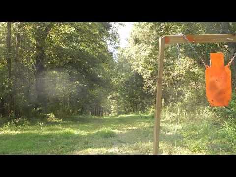 7mm-08 800 Yards Steel Target.  Ruger American.