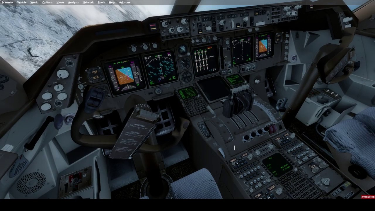 Loss of Flight Controls and Chaseplane due to FSUIPC