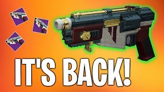 Destiny 2   D.F.A. IS BACK!   Bungie Did Something Right??