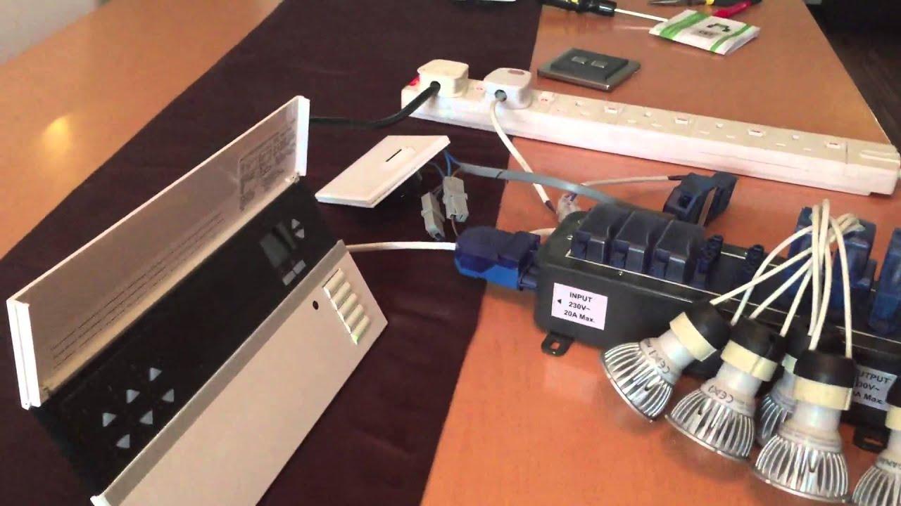 megaman gu10 dimmable led downlight test youtube. Black Bedroom Furniture Sets. Home Design Ideas