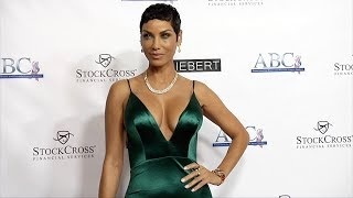 """Nicole Murphy """"ABCs 29th Annual Talk of the Town Gala"""" Red Carpet"""