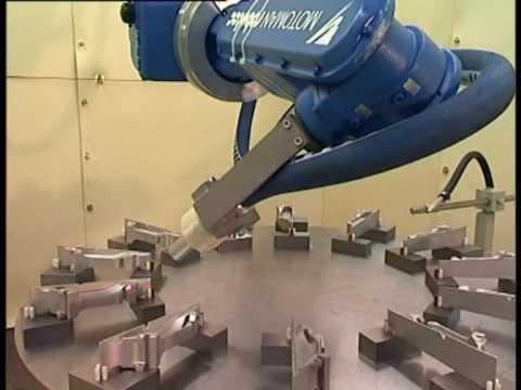Robotic Shotpeening Machine