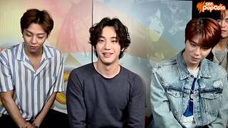 K-pop band THE ROSE interview