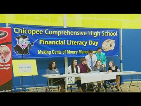 High school students taught financial literacy lessons