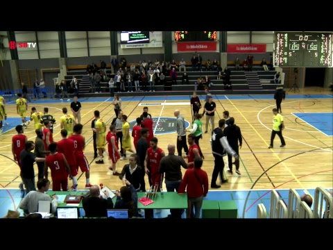Swiss Cup - Day 1: Monthey vs. Pully-Lausanne