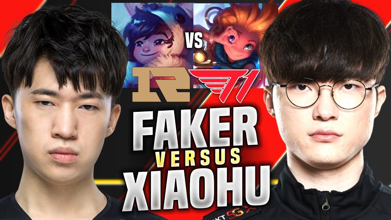 T1 FAKER vs RNG XIAOHU! - SKT T1 Faker Plays Zoe vs Nunu Mid! | KR SoloQ Patch 10.14