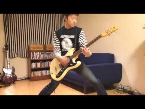 RAMONES - Spiderman - Guitar Cover