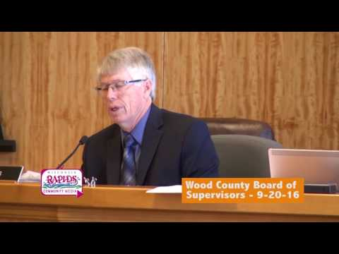 Wood County Board of Supervisors 9-20-16