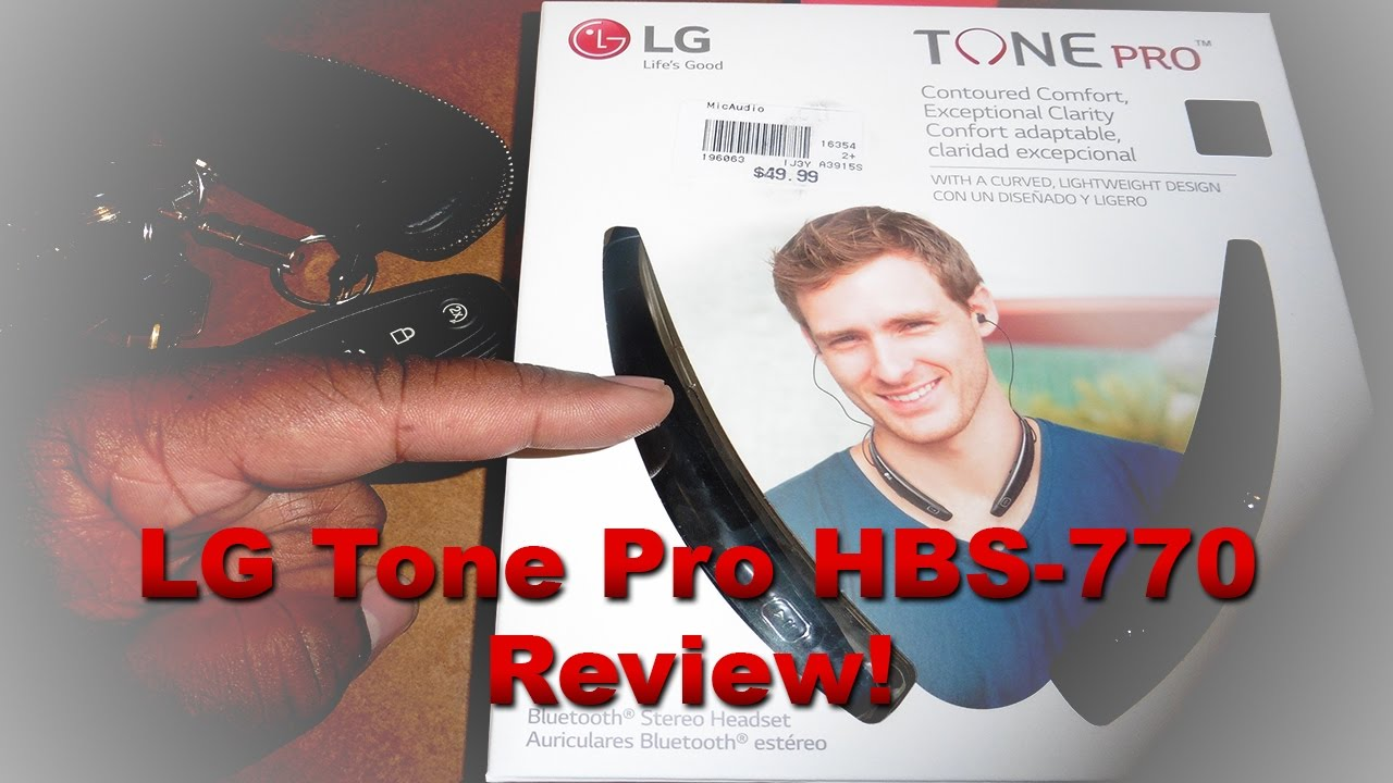 d80c4362cc5 LG Tone Pro HBS-770 Bluetooth Headphones (In-Car Review and first  impressions)