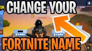 (Updated) How To Change Your Fortnite Display Name Gamertag (Season 10) For Free - PC/Mac/Mobile/PS4