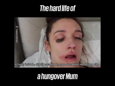 A hangover mum.