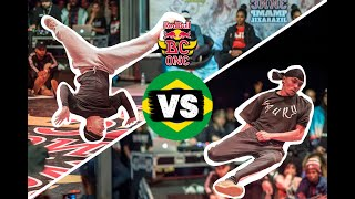 Red Bull BC One Cypher Brazil 2019 | Semifinal B-Boys: Ruddy vs. Mauri