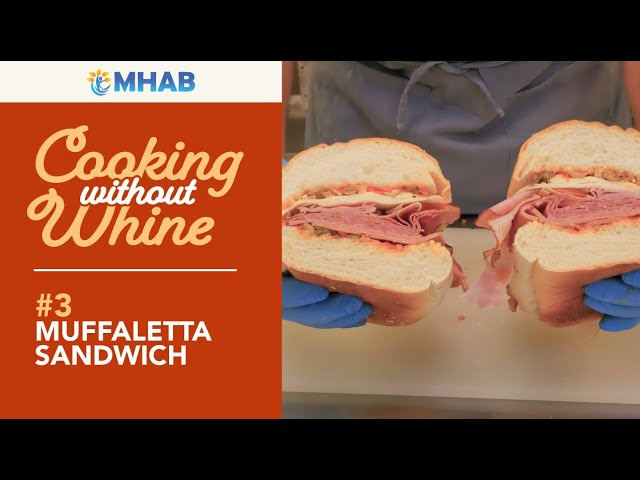 Cooking Without Whine: Muffaletta Sandwich