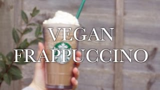 Vegan Soy Frappuccino - Low Fat, Dairy-free Starbucks Recipe