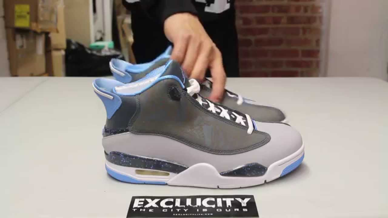 fd438d27951 ... buy air jordan dub zero university blue unboxing video at exclucity  youtube 4bf3e 132bf