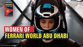 Ferrari World Abu Dhabi | Women of Ferrari World Abu Dhabi