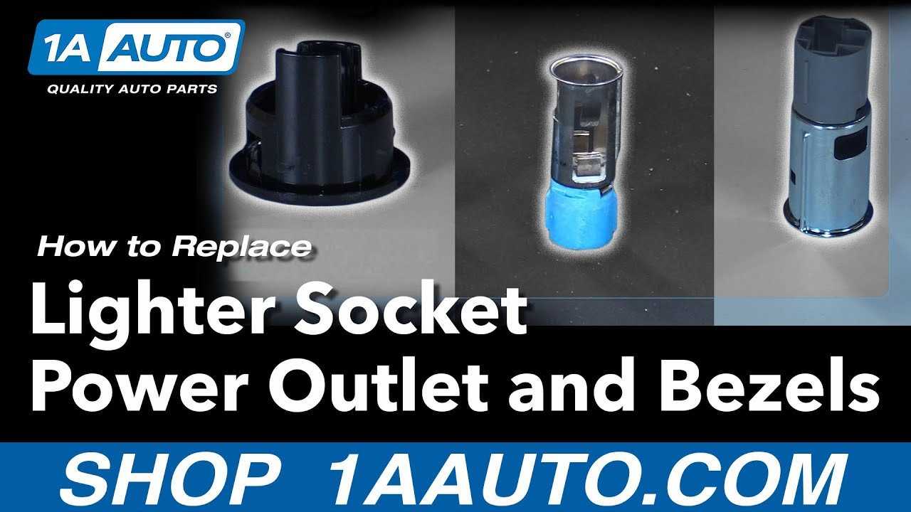 small resolution of how to replace lighter socket outlet bezels 98 15 dodge ram