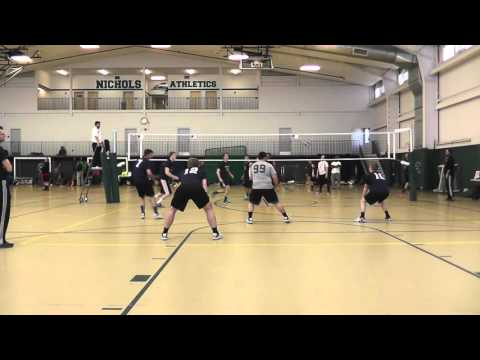 #SWAG Mens BB 3/19/16 Nichols College Finals vs Boom Sauce Part 1