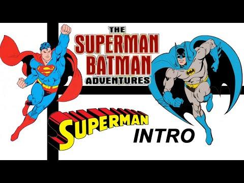 """Superman Batman Adventures"" Opening Credits And Superman Intro"