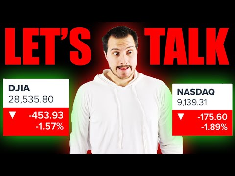 Is the Stock market about to Downtrend quite a bit?