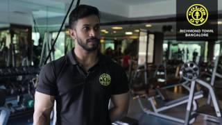 Vinod, Head Trainer @ Gold\'s Gym - Richmond Town