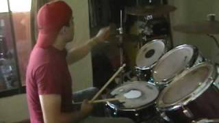 korn drum cover shoots and ladders, how i play it