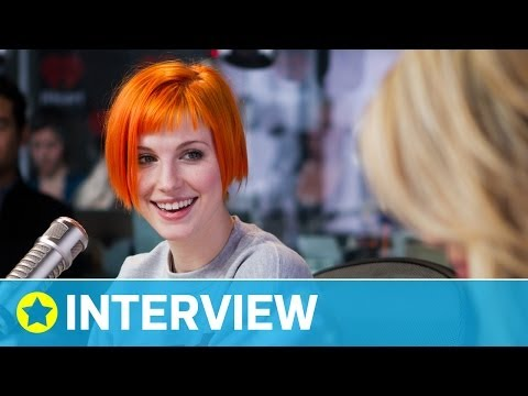 Hayley Williams is CRUSHING on Jason Segel | Interview | On Air with Ryan Seacrest