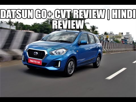 Datsun GO+ CVT Review | Hindi Review | Media Drive