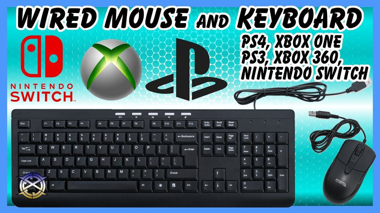 Wired Mouse and Keyboard | Nintendo Switch, Playstation, Xbox ...