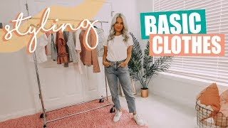 How to Style Basic Clothes