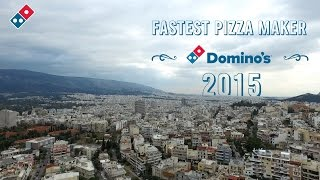 Domino's Greece: Fastest Pizza Maker Contest 2015