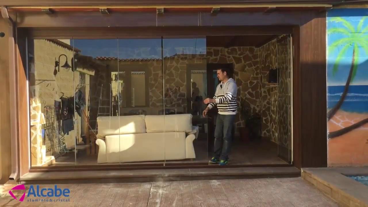 Cerramiento de cristal en porche de madera campillos - Porches de madera y cristal ...