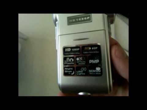 Aiptek 1080P Video Camera Unboxing