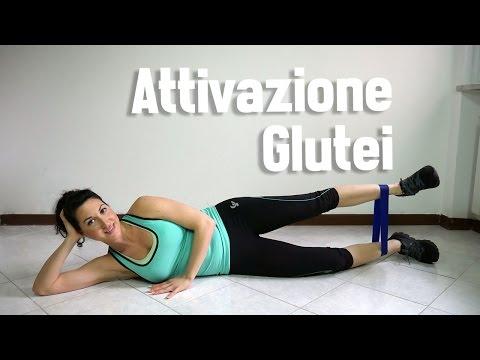 esercizi attivazione glutei
