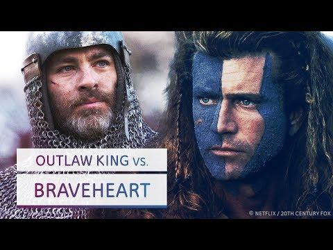 Wie Braveheart die Geschichte verdreht und Outlaw King es wieder ausbügelt