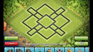 TH9 Farming Base | Clash of Clans 2015 Update | Two Air Sweepers + Replays