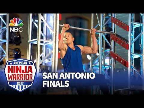 Brent Steffensen at the San Antonio City Finals - American Ninja Warrior 2017