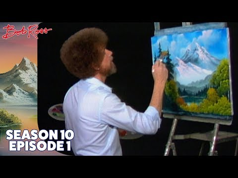 Bob Ross Towering Peaks (Season 10 Episode 1)
