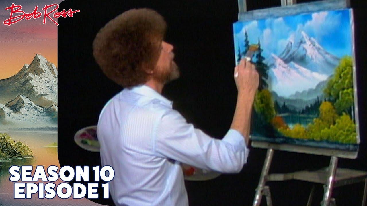 Download Bob Ross - Towering Peaks (Season 10 Episode 1)