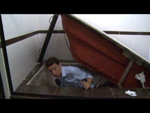 Rare access inside the former safe house of Joaquin 'El Chapo' Guzman