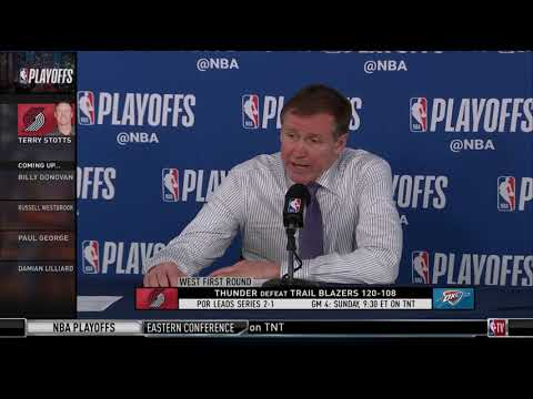 Terry Stotts Post-Game Press Conference | Game 3 at OKC