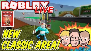 New Classic Area in Unboxing Simulator & MORE| Roblox LIVE | Enter Weekly Robux Giveaway